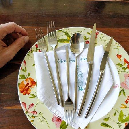 Chez Tante Athalie: Assiette
