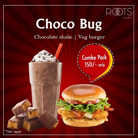 Yum Yum Choco Bug In The New Year Fun Let S Enjoy These Yummy Combo In This Christmas Cravings Picture Of Roots Cafe Bikaner Tripadvisor