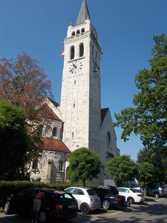 Pfarrkirche St Johannes: Il campanile alto 70 metri