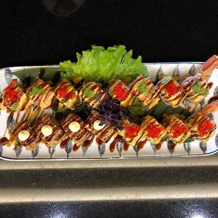 Specialità del Tipanan Japanese Restaurant