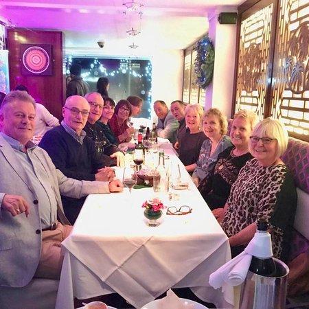 Birthday Dinner with chums