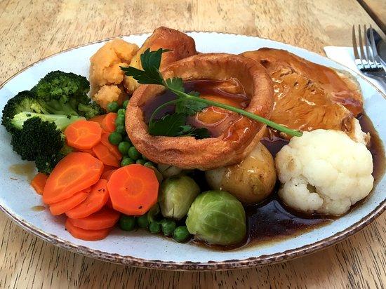 Llansanffraid Glan Conwy, UK: Sunday lunch
