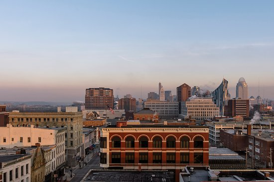 Window View - Picture of Hotel Covington Cincinnati Riverfront - Tripadvisor