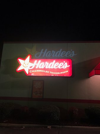 Hardee's, Princeton, NC after 9:00 pm.