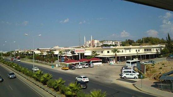 Okurcalar, Turcja: Widok na Bazar Grand Alara.