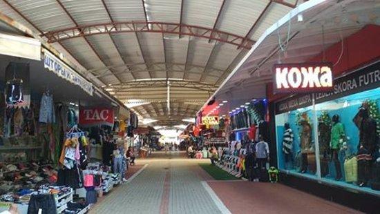 Okurcalar, Turcja: Punkty handlowe.