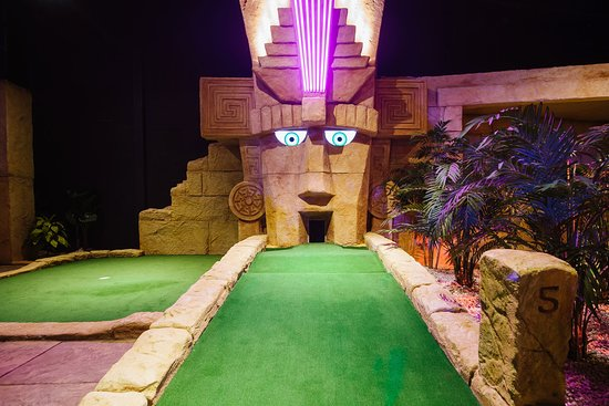 Treetop Adventure Golf Manchester