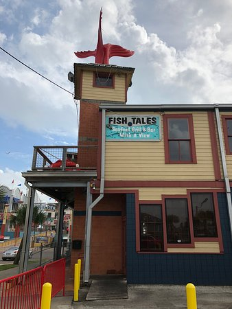 Fish Tales has indoor and outdoor seating