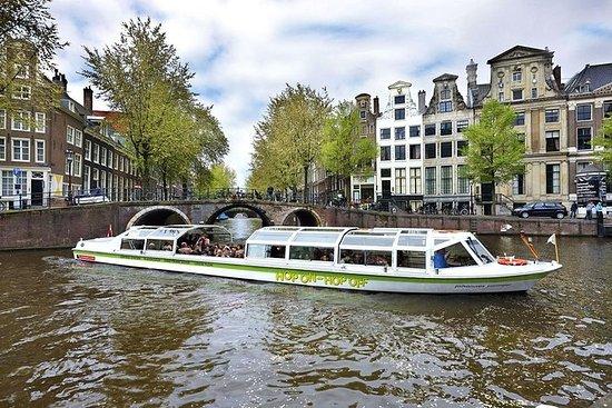アムステルダムホップオンホップオフボート24時間または48時間。