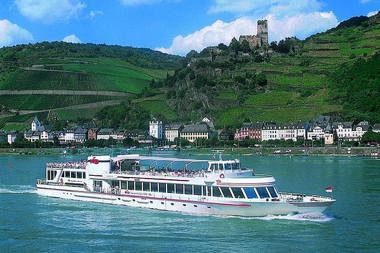 KD Rhine Pass desde Maguncia