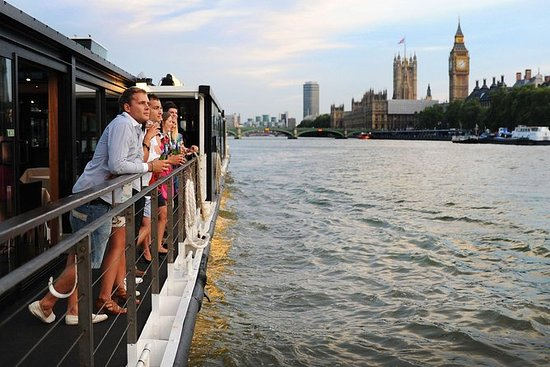 Middagscruise på Themsen i London