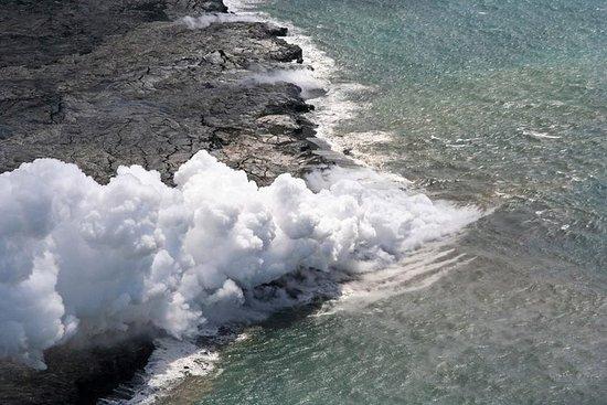 Avventura in elicottero su vulcani e