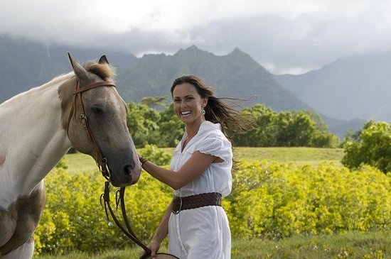 Horseback Adventure Package på Kualoa...