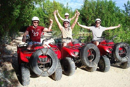 ATV tur i St Lucia
