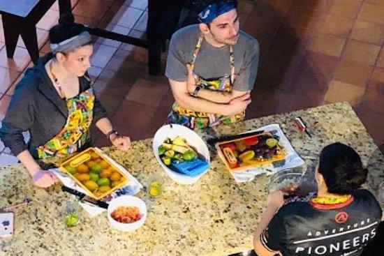ラフォーチュナのコスタリカ料理教室