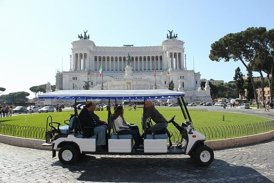 Visite Privee De Rome En Voiturette Golf