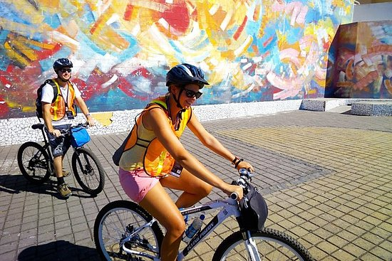 Santa Teclaの歴史と文化エルサルバドルの自転車ツアー