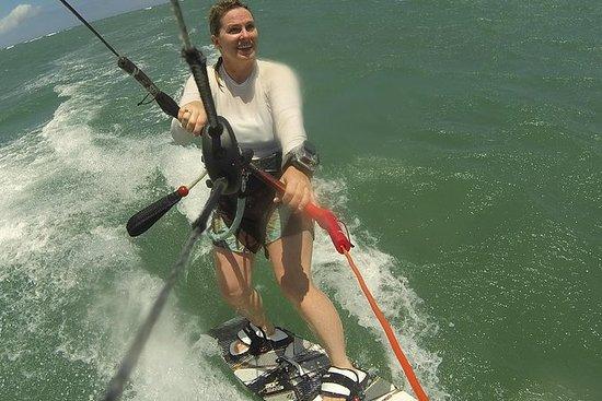 Kiteboarding-leksjon på Maui
