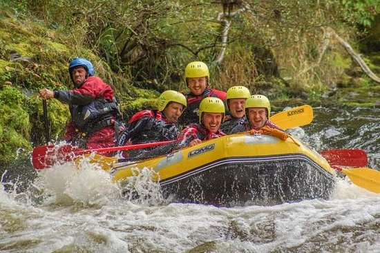 White Water Rafting in Llangollen