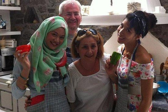 Cours de cuisine en Grèce, à Mykonos