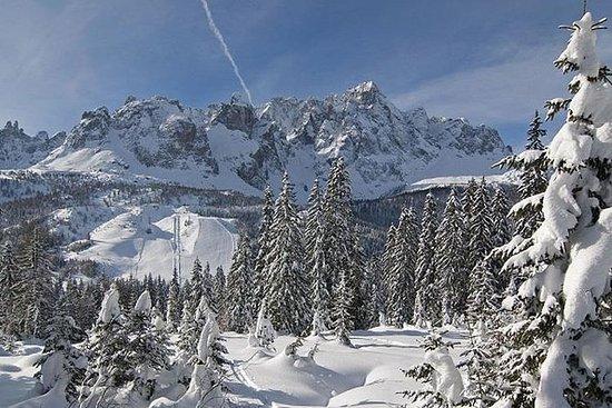 Excursion en ski aux Dolomites: les...