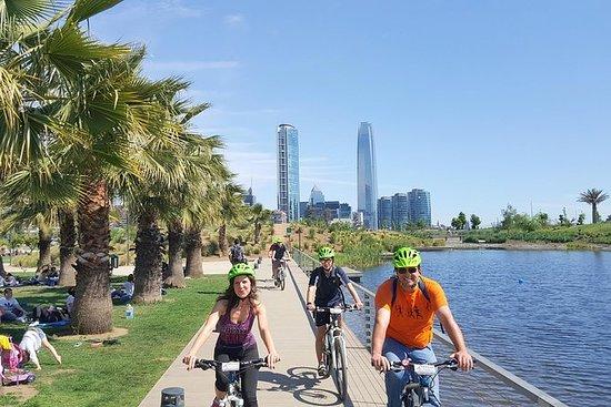 Tour panoramico in bici di Santiago