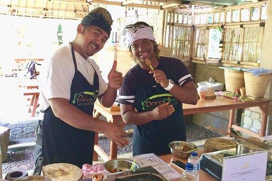 Balinesisk matlagingskurs fra Ubud