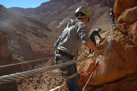 Todgha Gorge Via Ferrata in Morocco...