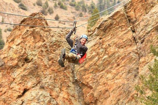 Idaho Springs Cliffside Zipline y...