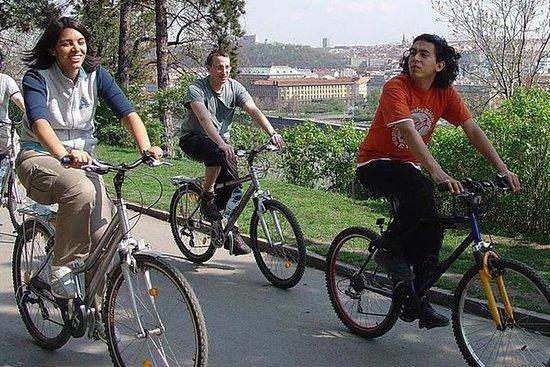 布拉格全景城市和布拉格城堡自行車之旅