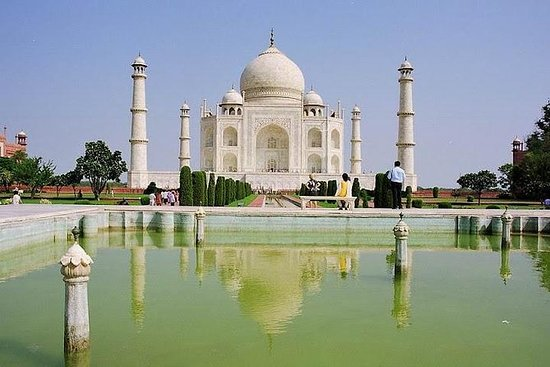 德里到阿格拉一日游,参观泰姬陵和阿格拉堡与Mehtab Bagh