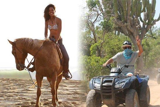 ATVとパシフィック乗馬コンボツアー