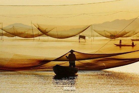 从会安的Cua Dai海的日落