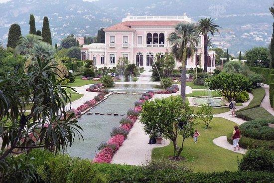 5-timers privat Ephrussi Villa og...