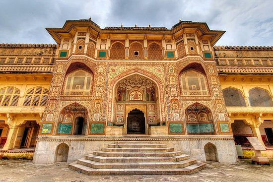 Tour privato: Amber Fort di Jaipur
