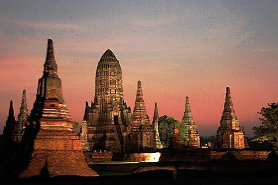 Dagstur til templer i Ayutthaya ved...
