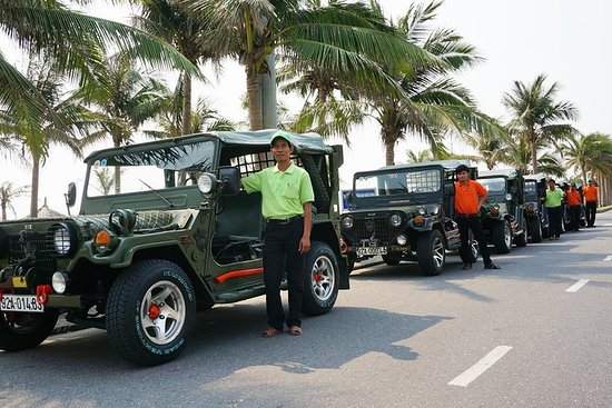 Full-Day Jeep Tour fra Da Nang