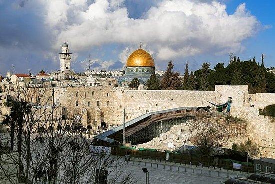 Excursão de Jerusalém e Belém saindo...