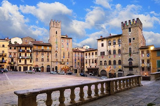 Arezzo e Cortona Private Day Trip...