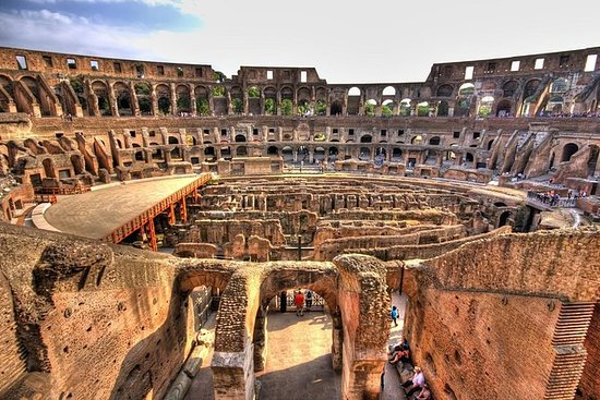 Colosseum, Pantheon and Roman Forum...