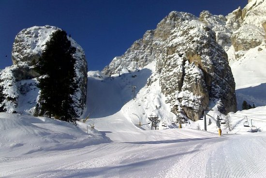 Sortie en ski au départ de Cortina...