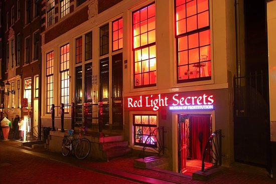 Red Light Secrets Museum in Amsterdam...