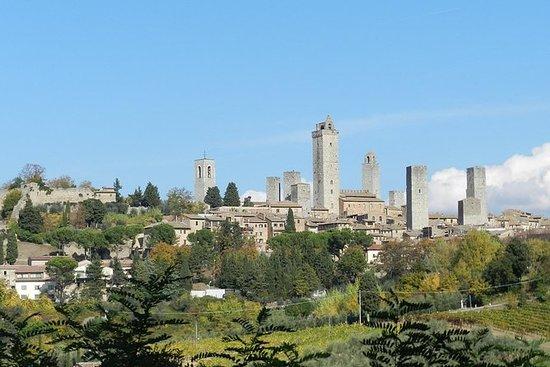 Visite privée à pied: San Gimignano...