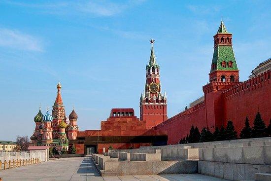 Praça Vermelha e o Kremlin de Moscou