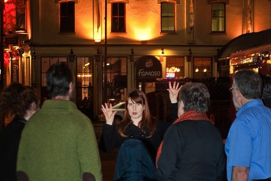 Ghostly Walking Tour i Victoria