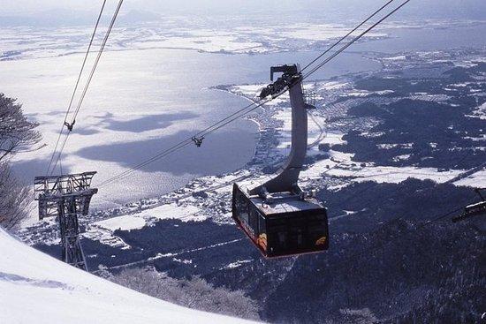 琵琶湖谷滑雪胜地从大阪往返交通
