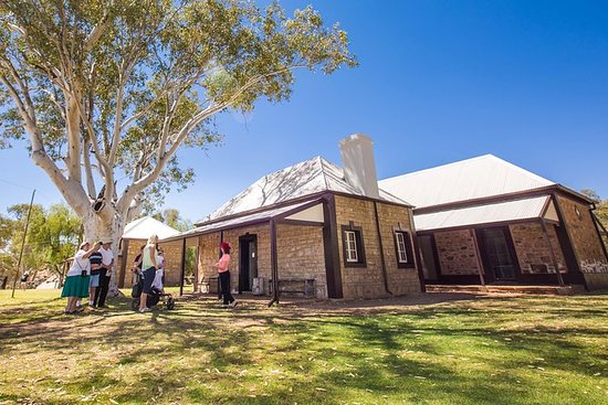 Alice Springs Telegraph Station Entry...
