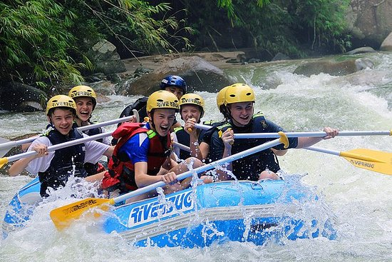 Half-Day Wildwasser-Rafting am Kampar ...