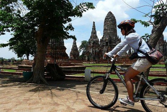Ganztägige Ayutthaya-Fahrradfahrt
