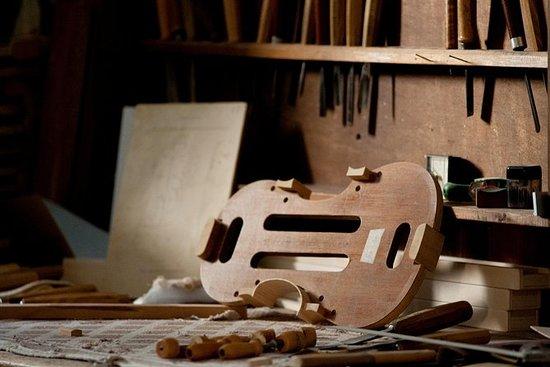 私人旅游:乐器导游博物馆参观当地的Liuteria